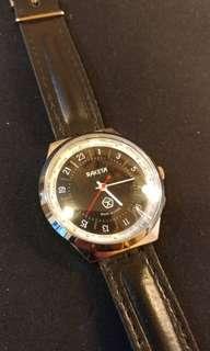 RAKETA 特別設計 24小時錶板24小時為一圈 機械錶