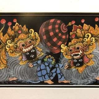 Balinese painting: Calonarang