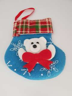 *bn* Christmas mini stocking