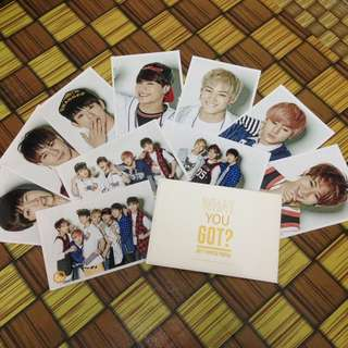 GOT7 WHAT YOU GOT? PRINTED PHOTOS