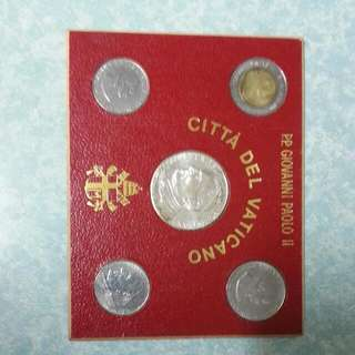Vatican (Paolo ll) coins