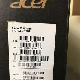 Acer vn7-592g-72ca