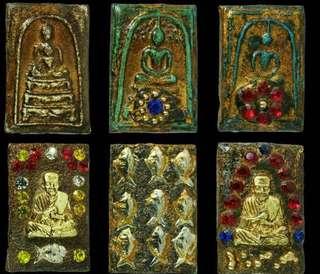 Thai Amulet 玉佛寺somdej BE2411