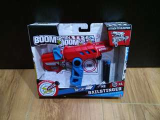 FURTHER MARK DOWN ! Boomco Railstinger Blaster Toy