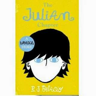 eBook - The Julian Chapter: A Wonder Story by R. J. Palacio