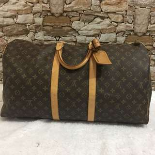 Authentic Pre-loved keepall 55 monogram
