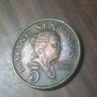 1974年菲律賓5分