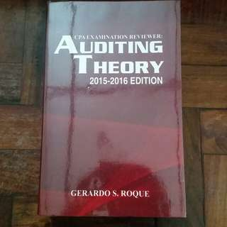 CPA Reviewer: Auditing Theory - Gerardo S. Roque