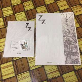 GOT7 7 FOR 7 PRESENT EDITION ALBUM (STARRY HOUR VER)