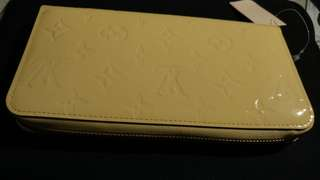 LV zippy wallet mv citrine
