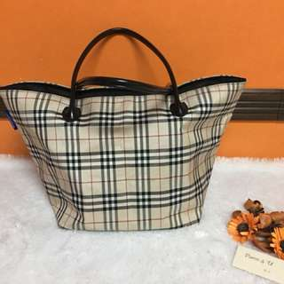 Authentic Pre-loved Burberry tote