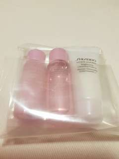 BN Shiseido White Lucent 3pc Travel Set