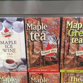 Maple teas