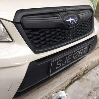 Subaru Forester Plastidip services plasti dip