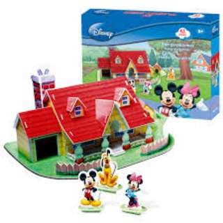 3D Puzzle - Mickey Mouse/Pooh/Honey Room