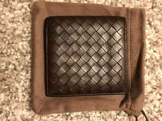 Bottega Veneta lambskin  leather wallet