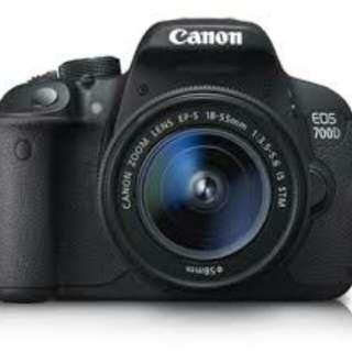 Canon dslr eon 700d 9.5/10