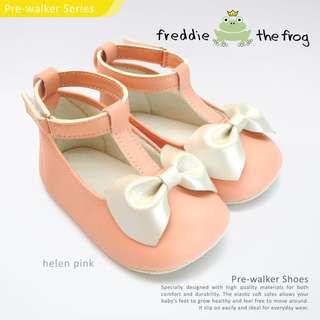 Helen Pink Shoes Baby Prewalker Personalised Gift