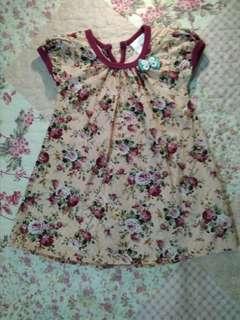 Baby Dress 0-6m
