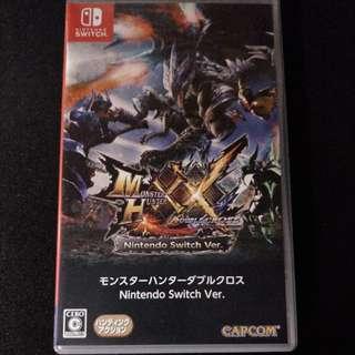 Nintendo Switch Game  魔物猎人XX monster hunter XX