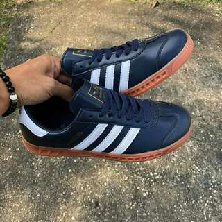Adidas Hamburg Leather Navy