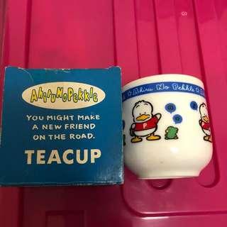Pekkle 1991 年日版陶瓷茶杯