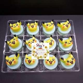 Pikachu Mini Jelly Agar Agar Tart (Minimum order qty 3 Boxes & Above)
