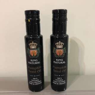 King Natural Pumpkin Seed Oil (純正有機南瓜籽油)