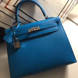 Hermes Kelly 25 - Chèvre leather sellier NEW
