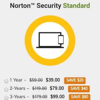 Norton Online Security Standard