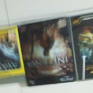 PS3 n PC games.