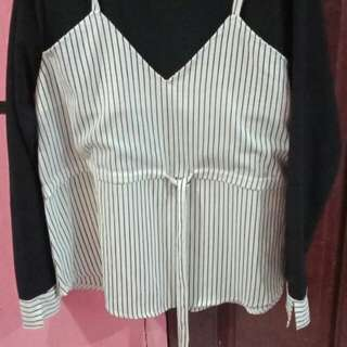 Blouse big size xl
