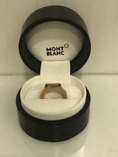 Monblanc star ring
