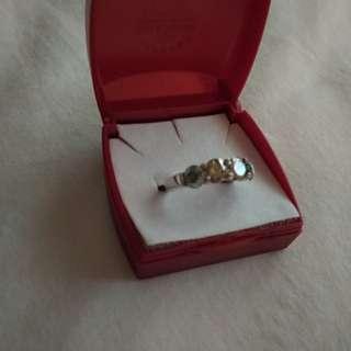 Sparkly Diamond Pinky ring