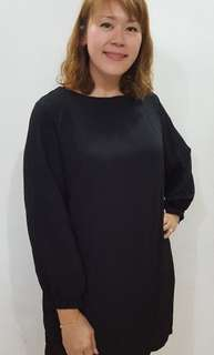 Plus size Long Sleeve Dress