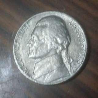 1985年美國5分硬幣