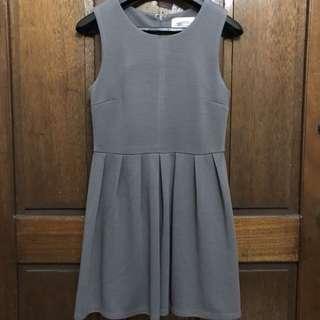 F21 Gray Dress