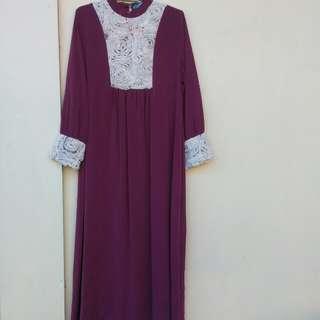 Baju Gamis Wanita Dress Panjang
