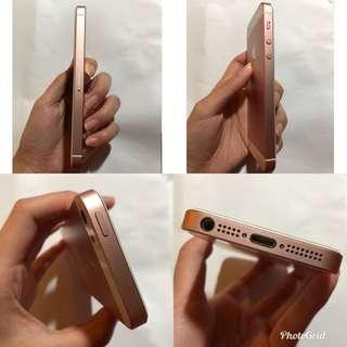 🚚 IPHONE SE 玫瑰金 64G