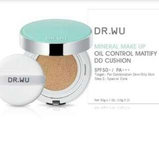 Dr Wu Mineral Makeup Oil Control Matify DD Cushion