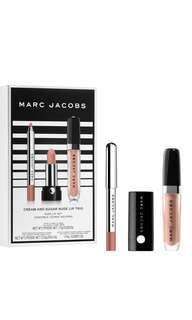 Marc Jacobs cream and sugar nude lip trio