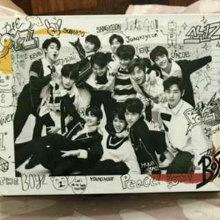 [READY STOCK] THE BOYZ THE FIRST Debut Mini Album (Unsealed)