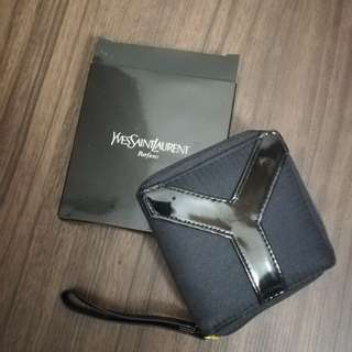 YSL purse with mirror