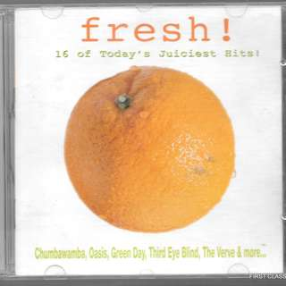 (F9V)MY PRELOVED CD -FRESH - 16 HITS OF TODAY;S JUICIEST HITS  /FREE DELIVERY (F9V)