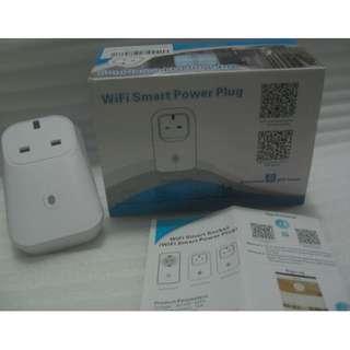 "WiFi Smart Power Plug . uses ""Broadlink e-control"" app"
