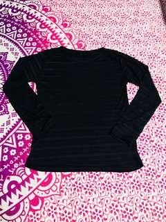 Black Stripe Long Sleeve
