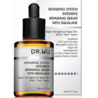 Dr Wu Repairing System Intensive Repairing Serum Squalane