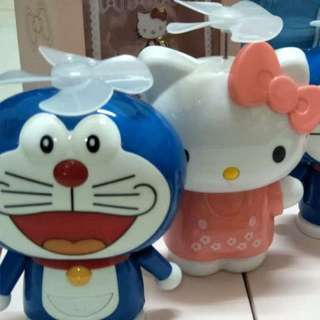 Cute powerbank with fan 10000mah