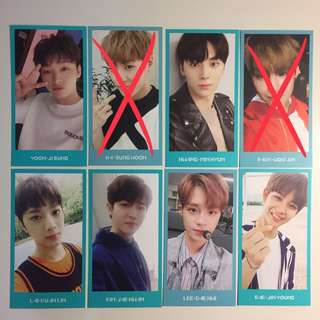 WANNA ONE membership kit photocard