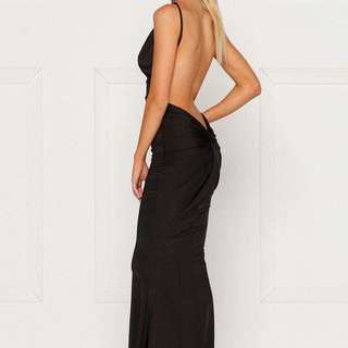 Alamour the Label Black Gown